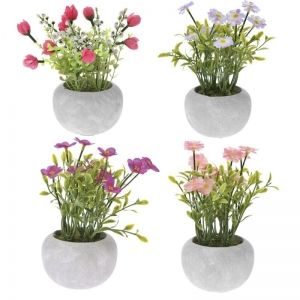 ARTIFICIAL FLOWER 18 CM IN POT
